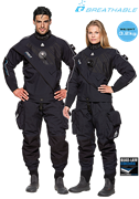 WATERPROOF D9X BREATHABLE DRYSUIT MAN