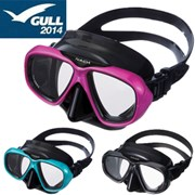 GULL NAIDA BLACK SILICON MASK- BLACK BLUE GREEN