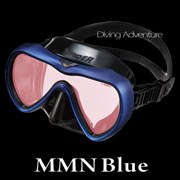 GULL VADER BLACK SILICONE MASK-MMN BLUE